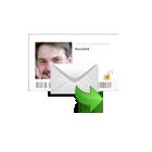 E-mail met een  medium uit Belgie